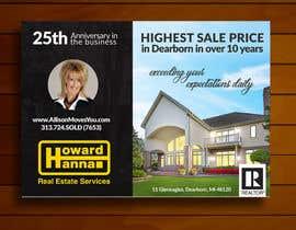 nº 83 pour Real Estate Agent Postcard par BlueTranslate