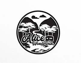 """#254 cho Simple vintage caravan logo - """"Alice Wondervan"""" bởi eddesignswork"""