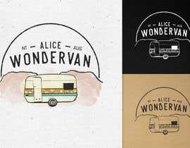 """#187 cho Simple vintage caravan logo - """"Alice Wondervan"""" bởi gabriellejeffery"""