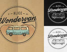 """#188 cho Simple vintage caravan logo - """"Alice Wondervan"""" bởi gabriellejeffery"""