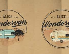 """#198 cho Simple vintage caravan logo - """"Alice Wondervan"""" bởi gabriellejeffery"""
