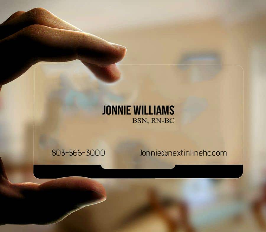 Entry #30 by knewazsharif for Design some Business Cards Clear ...