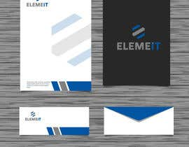 #24 for Elemeit letterhead & envelop by anikgd