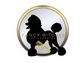 #18 untuk Fancy Bitches - Fix up my new business logo oleh realoscarmoren0