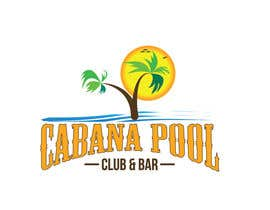 "#73 for Creative Abstract Logo for ""Cabana Pool Club & Bar"" by rtaraq"