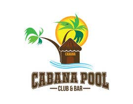 "#82 for Creative Abstract Logo for ""Cabana Pool Club & Bar"" by rtaraq"
