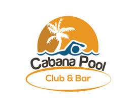 "#75 for Creative Abstract Logo for ""Cabana Pool Club & Bar"" by msmoshiur9"
