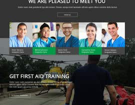 #43 for Design Website for Non-Profit Ambulance Service (Design + HTML) by Isha3010