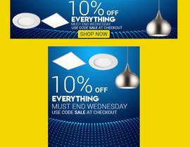 #70 for Design 3 Banners - 10% OFF Everything by sahadathossain81