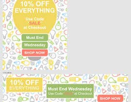 #60 for Design 3 Banners - 10% OFF Everything by Lunedo