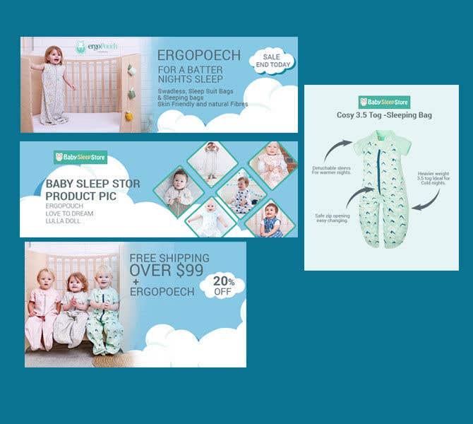 Entry 43 By Sahadathossain81 For Design 4 Banner Templates For Ecommerce Site Freelancer