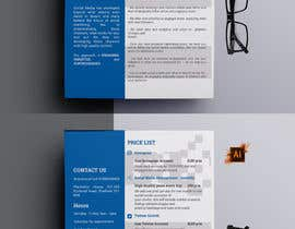 #26 para Design a Flyer in English por smileless33