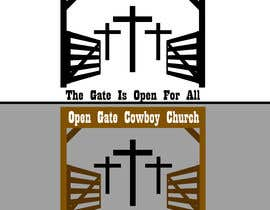 #5 for Design a Logo For A Cowboy Church by IamRiverRio