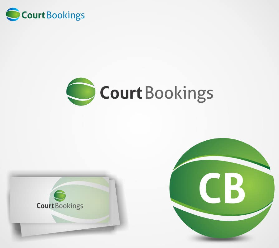 Конкурсная заявка №15 для Corporate Identity Design for Courtbookings.com.au