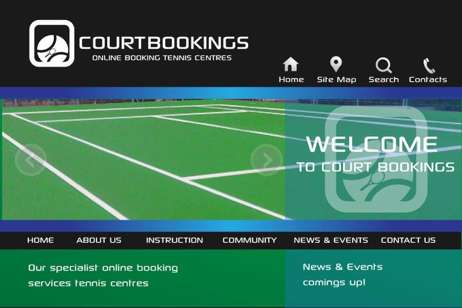 Inscrição nº 192 do Concurso para Corporate Identity Design for Courtbookings.com.au