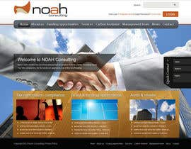 #88 untuk Website Design for NOAH Consulting oleh peaceonweb