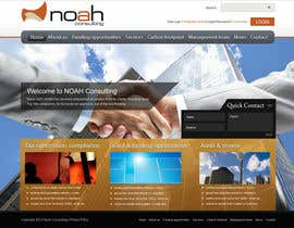 #86 untuk Website Design for NOAH Consulting oleh peaceonweb