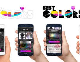 #10 för 'Best Colors' mobile website screens and logo av templatefreaks