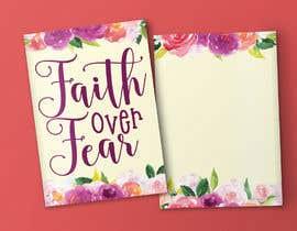 #59 for Faith Over Fear Book Cover by ryakou