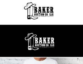 #18 para Logo Design - Baker Auction Co por fourtunedesign