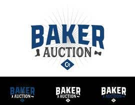 #36 para Logo Design - Baker Auction Co por Jevangood