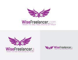 #65 for Logo of a flying owl,, single color icon + website name + motto by perfectdesign007
