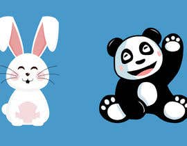 #47 untuk Panda/Bunny Illustration oleh R3PhysX