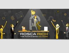 #36 for Banner design - Rosca Rich by leandeganos