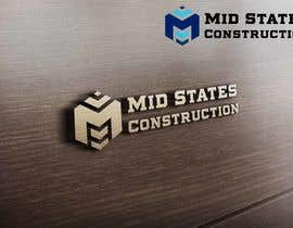 #82 cho Mid-States Construction Logo Needed bởi zwarriorx69