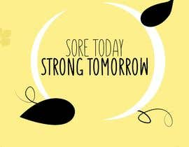 #25 for Sore Today, Strong Tomorrow Book Cover by gt4ever