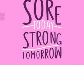 #52 for Sore Today, Strong Tomorrow Book Cover by gt4ever