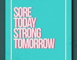 #50 for Sore Today, Strong Tomorrow Book Cover by akidmurad