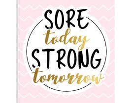 #112 for Sore Today, Strong Tomorrow Book Cover by edyna9