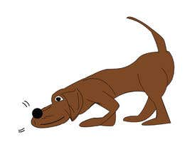 #63 cho Cartoon dog drawing - Vector bởi rahmanashiqur421