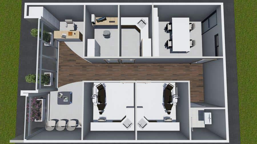 Kilpailutyö #23 kilpailussa Dental Practice Concept Layout Design
