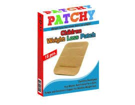 #2 for Packaging design for a new Children Weight Loss Patch - i need a logo (brand name) and a packaging box design to place the product in.  The packaging box sixe is Length - 17cm, Width 12,5cm and hight 2,5cm by jovanbc