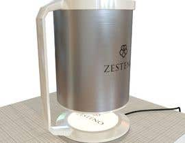 Nro 29 kilpailuun External Design for Smart, Self Heating, Floating Mug for a Company named Zesteno käyttäjältä rend87