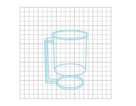 Nro 2 kilpailuun External Design for Smart, Self Heating, Floating Mug for a Company named Zesteno käyttäjältä MartinReds