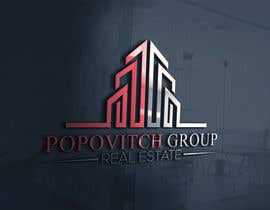 Nro 125 kilpailuun LOGO DESIGN: Popovitch Group Real Estate käyttäjältä farhaislam1