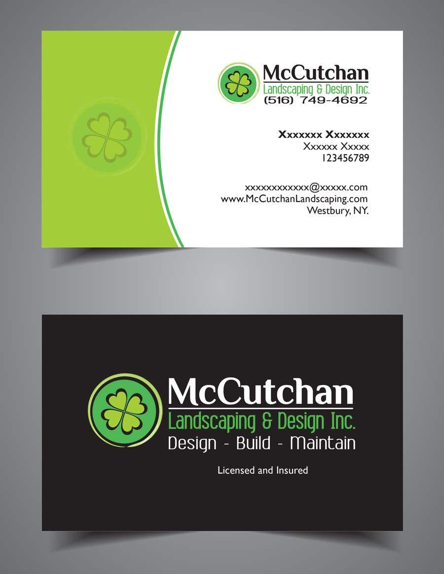 Entry 3 By Prasanth78 For Landscaping Business Card Freelancer