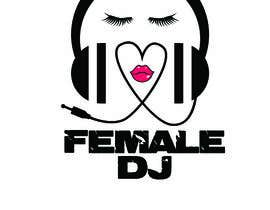 #17 for Need a modern logo for a female dj, need in png (whitout background, color and black). by mihaelak