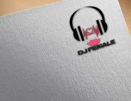 #19 for Need a modern logo for a female dj, need in png (whitout background, color and black). by mihaelak