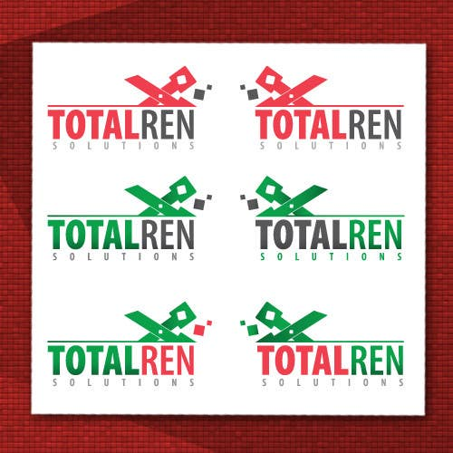 #101 for Logo Design for TotalRen Solutions by andreijindiceanu