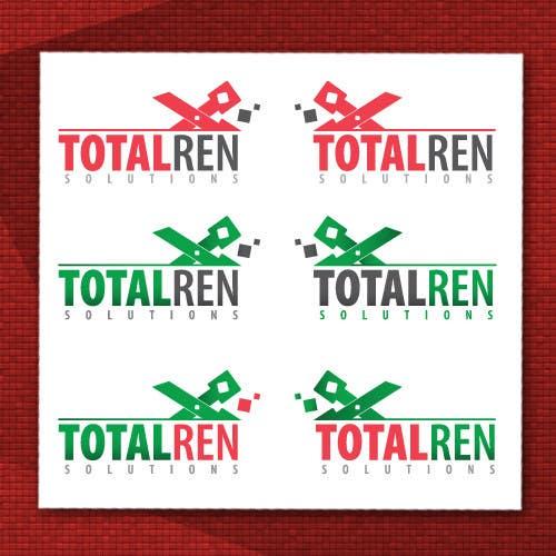 Proposition n°101 du concours Logo Design for TotalRen Solutions