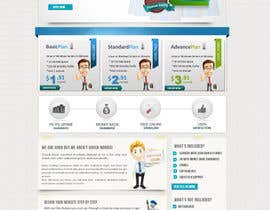 nº 25 pour Website Design for servinio par kreativegraphic