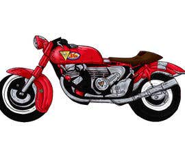 #15 cho Colouring, painting on the sketch of a motorcycle. bởi micagomezfranco