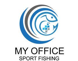 #63 for MY OFFICE SPORT FISHING LOGO by shakilhd99