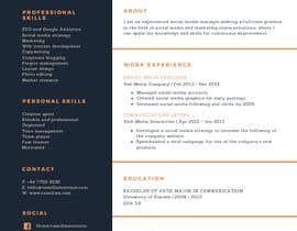 Nro 21 kilpailuun Create Resume Templates käyttäjältä csonagra76