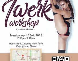#10 for Design a Flyer OF A TWERK DANCE CLASS by perrinesowl05