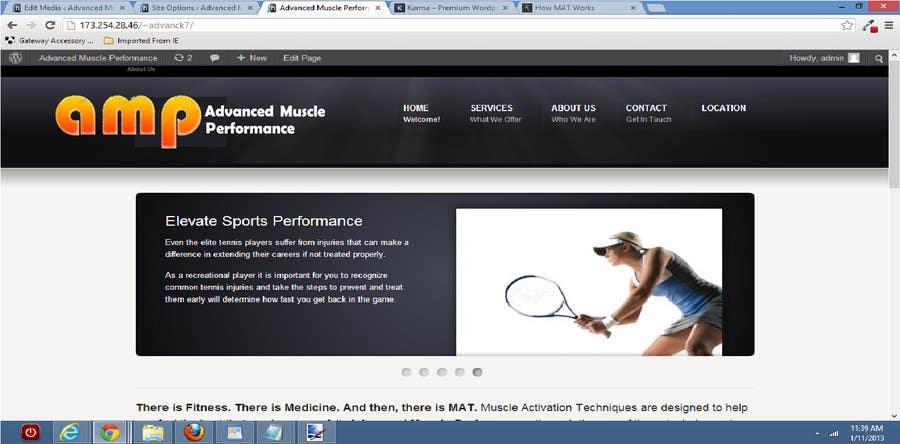 Penyertaan Peraduan #164 untuk Graphic Design for Advanced Muscle Performance